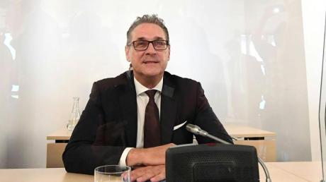 Heinz-Christian Strache am Donnerstag im Ibiza-Untersuchungsausschuss.