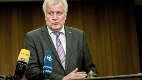 Innenminister Horst Seehofer (CSU) fordert Solidarität mit Südeuropa.