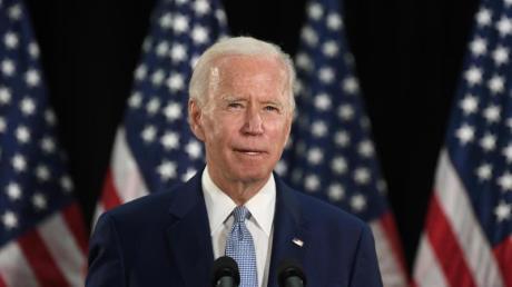 Joe Biden, designierter Präsidentschaftskandidat der Demokraten und ehemaliger Vizepräsident der USA.