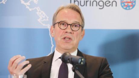 Thüringens Innenminister Georg Maier (SPD) warnt vor Zunahme von Terrorismus.