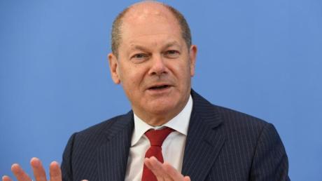 Bundesfinanzminister Olaf Scholz wird SPD Kanzlerkandidat.