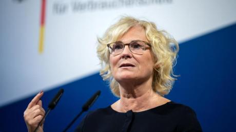 Justizministerin Christine Lambrecht: «Senden das ganz klare Signal aus, dass wir diese Taten nicht hinnehmen.».