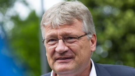 AfD-Parteichef Jörg Meuthen beim Bundeskonvent der Partei in Lommatzsch.
