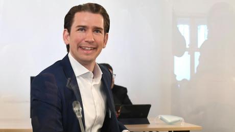 Österreichs Bundeskanzler Sebastian Kurz musste am Mittwoch vor dem Ibiza-Untersuchungsausschuss aussagen.
