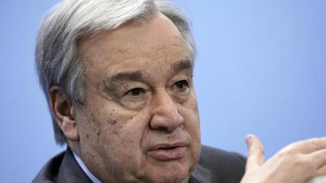 Warnt Israel vor der Annexion des besetzten Westjordanlandes: UN-Generalsekretär António Guterres.
