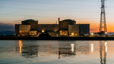 Das Atomkraftwerk in Fessenheim ist 43 Jahre alt. Es wird diese Woche abgeschaltet.