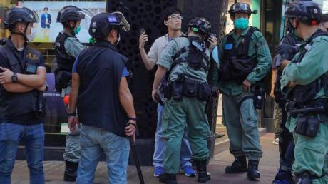 In Hongkong gibt es erneut Proteste gegen das chinesische Sicherheitsgesetz.