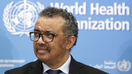 Tedros Adhanom Ghebreyesus, Generaldirektor der Weltgesundheitsorganisation WHO.