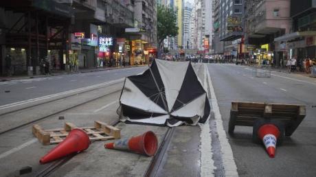 Am 23. Jahrestag der Rückgabe Hongkongs an China kam es zu weiteren Protesten gegen das neue Sicherheitsgesetz.
