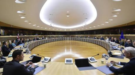 Verhandlungsrunde über die künftigen Handelsbeziehungen der EU und Großbritannien.