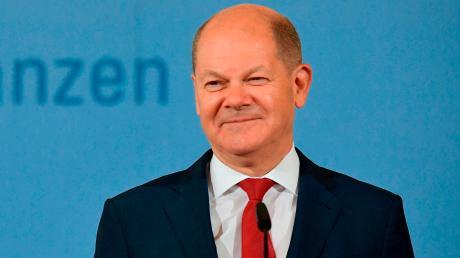 Ein Finanzminister, der gut lachen hat? In der SPD läuft die Kanzlerkandidatur für die Bundestagswahl 2021 auf Olaf Scholz zu.