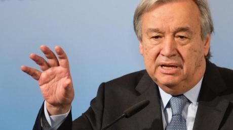 UN-Generalsekretär Antonio Guterres hat angesichts der Corona-Krise mehr internationale Zusammenarbeit gegen Pandemien angemahnt.