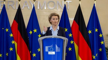 Stets um ihre Außenwirkung bedacht, aber offenbar kaum ansprechbar: So regiert Ursula von der Leyen im Berlaymont, dem Sitz der EU-Kommission.