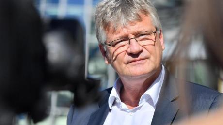 Der Bundessprecher der AfD Jörg Meuthen vor Beginn einer AfD-Bundesvorstandssitzung.