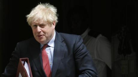 Immer etwas zerzaust unterwegs: Boris Johnson regiert die Briten seit genau einem Jahr.