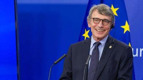 EU-Parlamentspräsident David Sassoli löste Diskussionen aus.