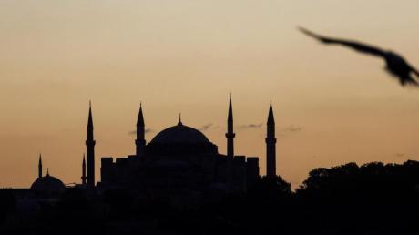 Blick auf die Hagia Sophia.