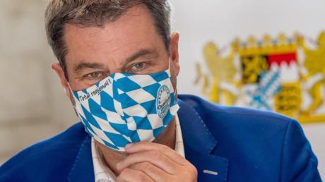 CSU-Chef Markus Söder bekräftigt, dass er in Bayern bleiben möchte.