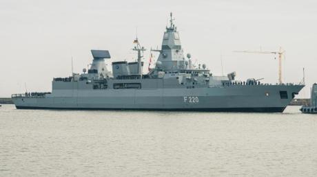 Deutschland schickt die Fregatte «Hamburg» für einen EU-Marineeinsatz vor Libyen ins Mittelmeer.