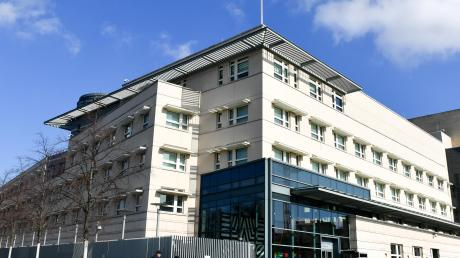 Die US-Botschaft am Pariser Platz in Berlin.