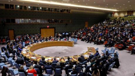 Außenminister Heiko Maas zieht eine positive Bilanz zur deutschenPräsidentschaft im UN-Sicherheitsrat, hier bei einer Sitzung imJanuar.