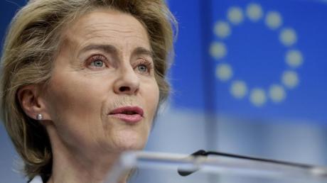 EU-Kommissionspräsidentin Ursula von der Leyen: Im Kampf gegen die Corona-Wirtschaftskrise haben sich die EU-Staaten auf das größte Haushalts- und Finanzpaket ihrer Geschichte geeinigt.