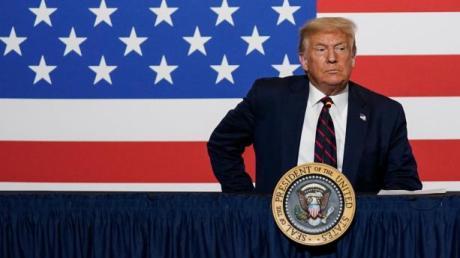 US-Präsident Donald Trump liegt in Wählerumfragen derzeit deutlich hinter Joe Biden.