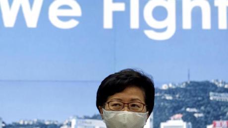 Carrie Lam, Regierungschefin von Hongkong, hatte die Verlegung der Wahlen mit dem Risiko durch das Coronavirus begründet.