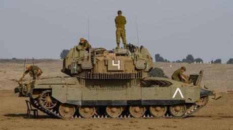 Israelische Soldaten kontrollierten die Golanhöhen. (Symbolbild).