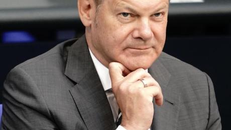 Bundesfinanzminister Olaf Scholz (SPD).