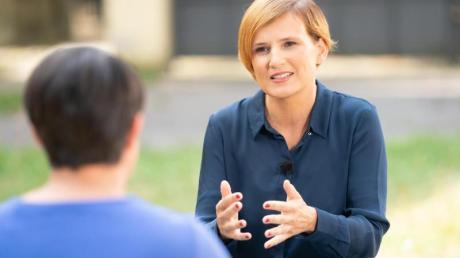Linken-Chefin Katja Kipping sieht ihre Partei bereit für eine Regierungsbeteiligung.