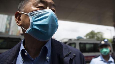Jimmy Lai werden geheime Absprachen mit Kräften im Ausland und andere Verstöße vorgeworfen.