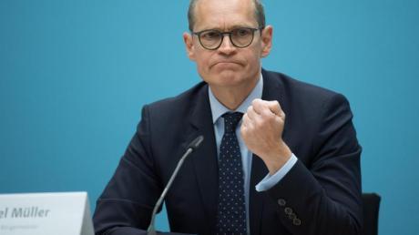 Michael Müller will über den Wahlkreis Charlottenburg-Wilmersdorf in den Bundestag einziehen.