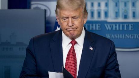 «Sie waren überrascht, ich war überrascht, und ich denke auch, dass das ziemlich ungewöhnlich war», sagte Trump nach demVorfall.