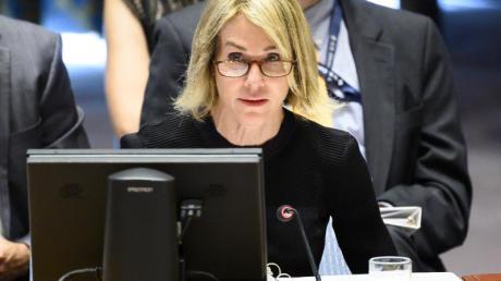 Die UN-Botschafterin der USA: Kelly Craft.