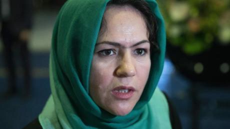 Die afghanische Frauenrechtlerin Fausia Kufi gehört zur Delegation der Regierung für die geplanten Friedensgespräche mit denTaliban.