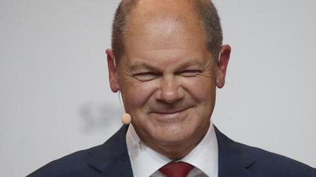 Die SPD hatte Vizekanzler Scholz am Montag zum Kanzerlkandidaten nominiert.