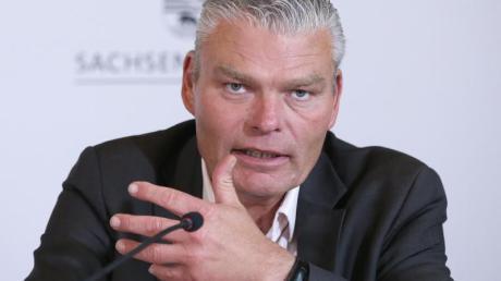 Muss seinen Posten räumen: Der bisherigen Innenminister von Sachsen-Anhalt, Holger Stahlknecht (CDU).