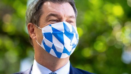 Markus Söder am Dienstag nach der Sitzung des bayerischen Kabinetts.