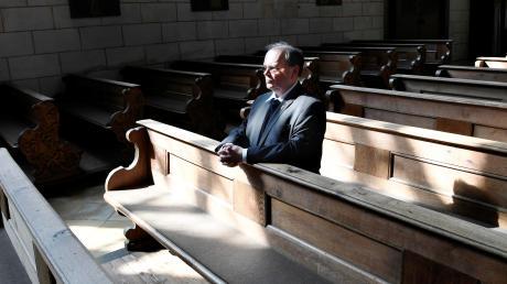 Ruhige Momente sind in den vergangenen Wochen selten gewesen für Bertram Meier. Mit seiner Weihe  wurde er nicht nur Bischof, sondern auch zur öffentlichen Person.