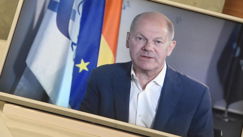 Dieser Mann will Kanzler werden: Bundesfinanzminister Olaf Scholz (SPD) im Live-Interview mit unserer Redaktion.
