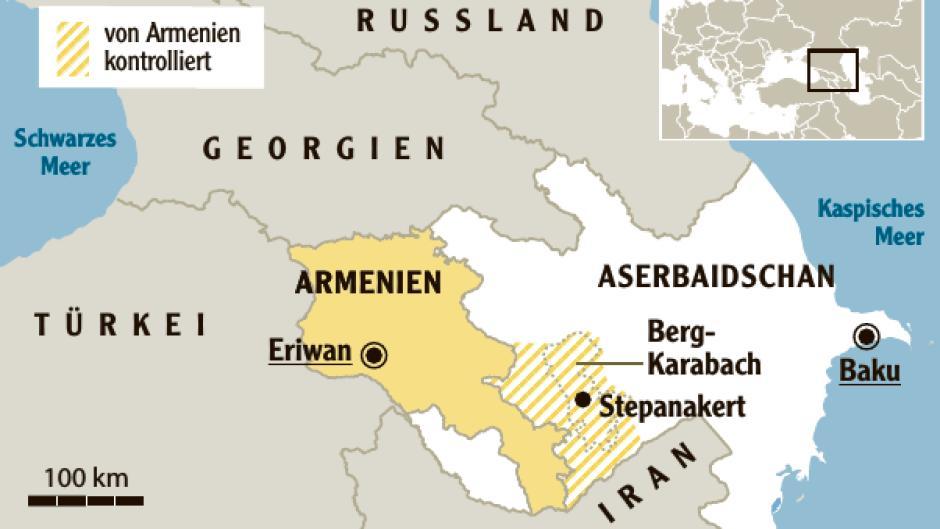 Analyse Konflikt In Berg Karabach Warum Der Hass Wieder Ausbricht Augsburger Allgemeine