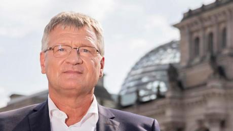 Fototermin vor dem Reichstagsgebäude. Einziehen in den Bundestag wird Jörg Meuthen nicht.