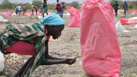 Ländern wie dem Südsudan gelingt es nicht, den Hunger erfolgreich zu bekämpfen.