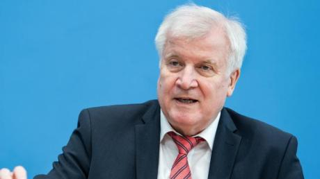 Bundesinnenminister Horst Seehofer: «Es hat sich an meiner Position nichts geändert.».