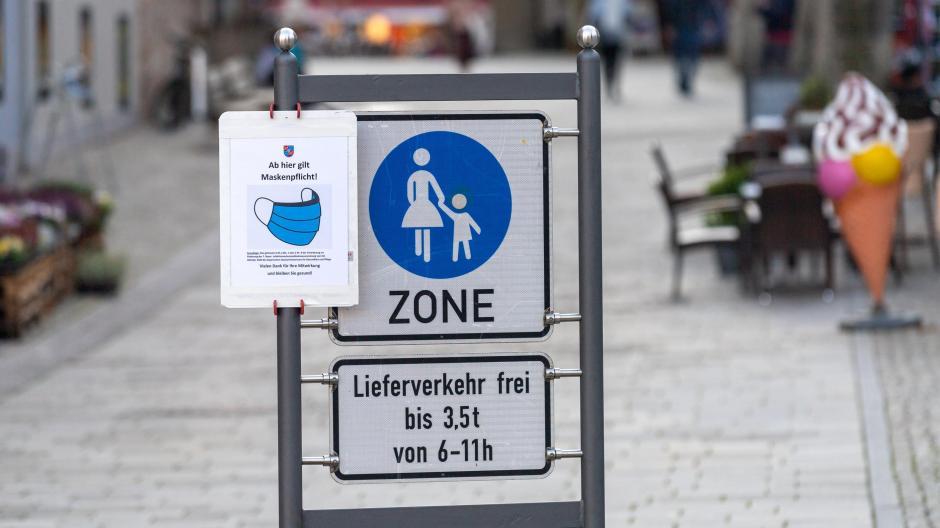 Corona-Tristesse in Berchtesgaden: In der Region gelten strenge Ausgangsbeschränkungen. Die Infektionszahlen markieren einen traurigen Rekord.