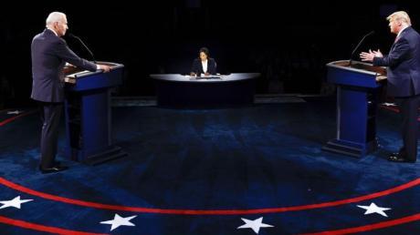 Wer gewinnt die US-Präsidentschaftswahl: Amtsinhaber Donald Trump oder Herausforderer Joe Biden?