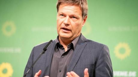 Robert Habeck, Bundesvorsitzender der Partei Bündnis 90/Die Grünen.