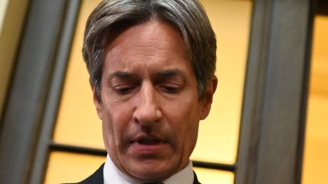 Karl-Heinz Grasser am Freitag im Wiener Schwurgericht: Der langjährige österreichische Finanzminister wurde unter anderem wegen Untreue verurteilt.
