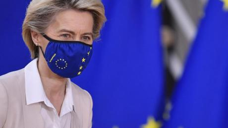 «Europa geht voran»: Ursula von der Leyen, Präsidentin der Europäischen Kommission.